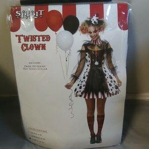 Twisted Clown Halloween Costume